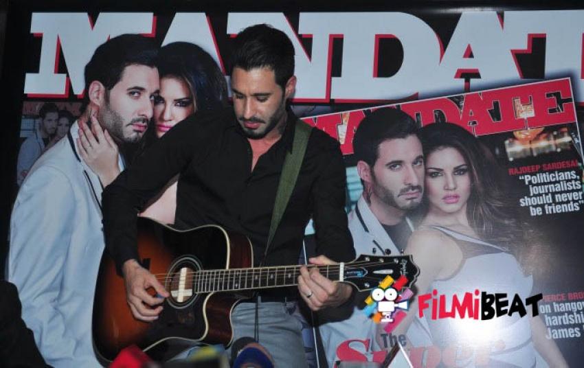 Sunny Leone & Daniel Weber Unveils Mandate Magazine Photos