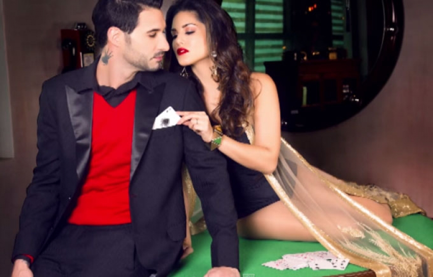 Sunny Leone Sizzles With Husband Daniel Weber On Mandate Cover Photos