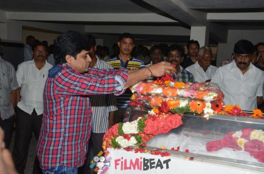 Tollywood Celebs Pay Homage To Actor Ahuti Prasad Photos