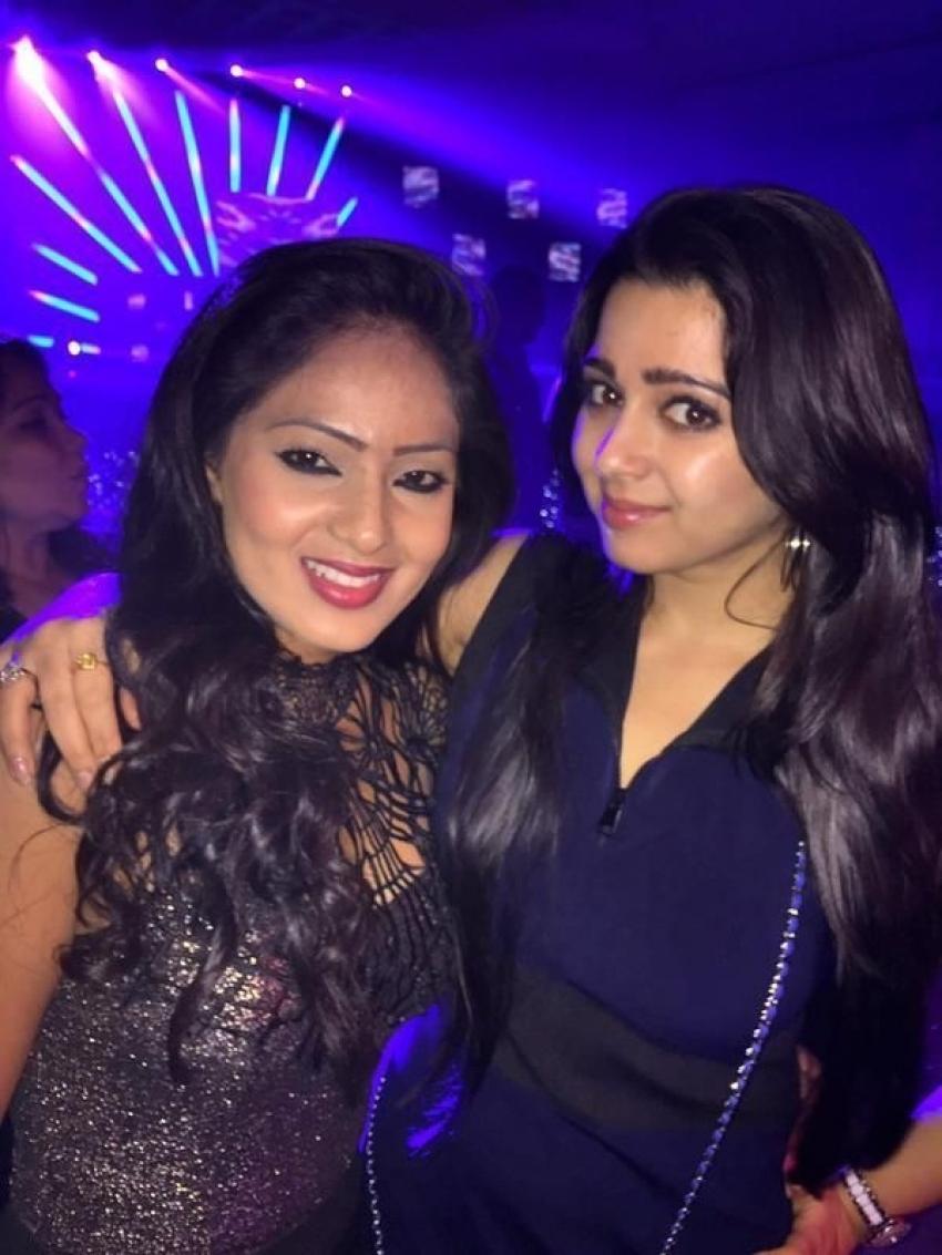 Trisha Krishnan And Varun Manian Engagement Party Photos
