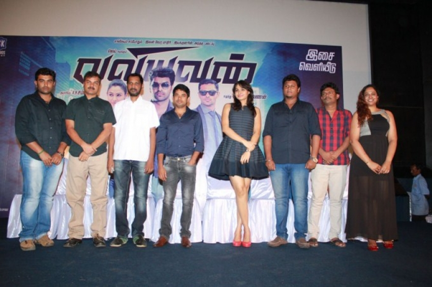 Valiyavan Press Meet Photos