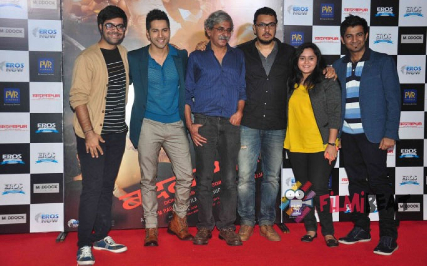 Varun Dhawan Unveils 'Jee Karda' Song From 'Badlapur' Photos