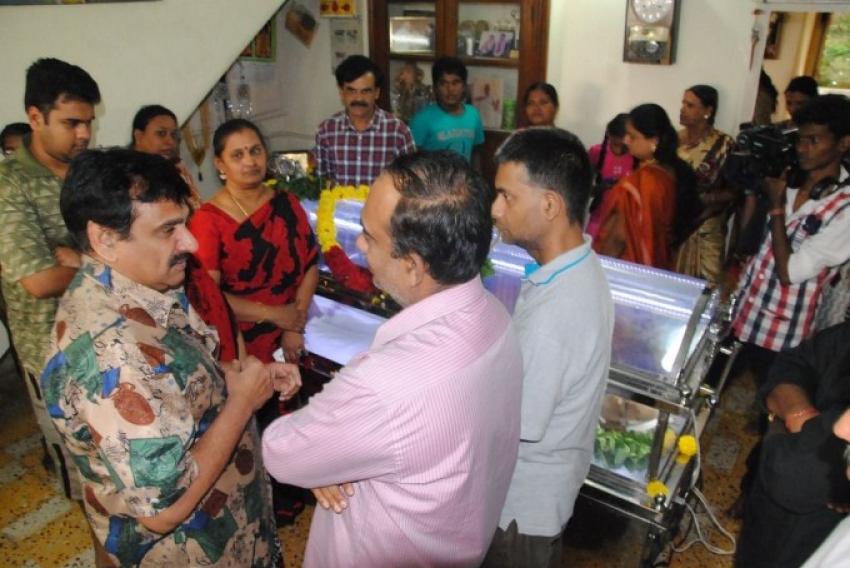 Veteran Actor VS Raghavan Passes Away Photos