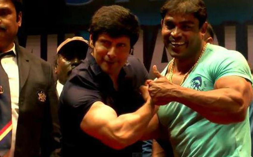 Vikram AT Mr.Tamil Nadu 2015 Body Building Championship Photos