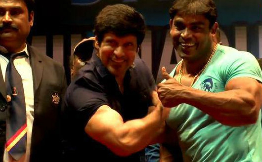 Vikram at mrtamil nadu 2015 body building championship altavistaventures Choice Image