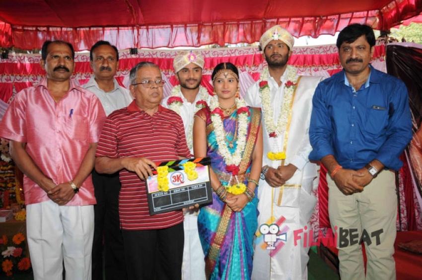 3K Film Press Meet Photos
