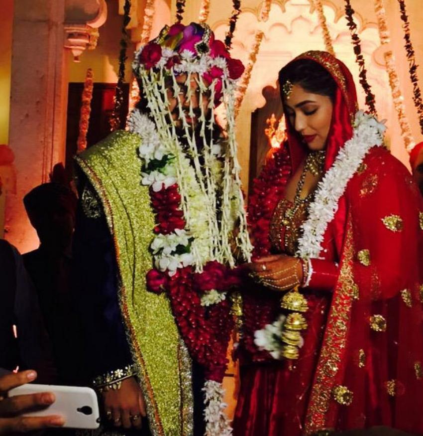 Rajat Tokas & Shrishti Nayyar Wedding Photos
