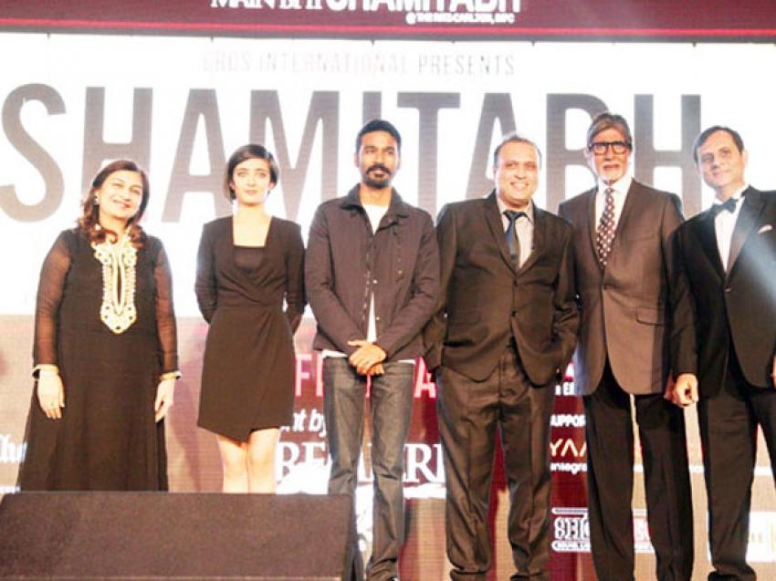 'Shamitabh' Movie Promotion At Dubai Photos