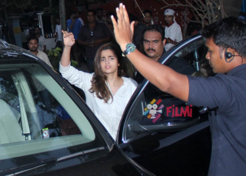 Alia Bhatt & Sidharth Malhotra Shooting For Coca Cola Campaign Photos