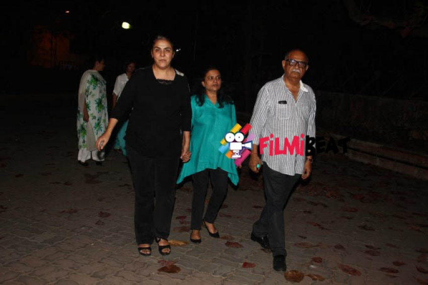 Celebs Attend Funeral Of Danny Denzongpa's Manager Madan Mohan Photos