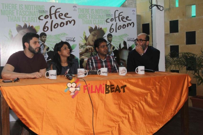 'Coffee Bloom' Movie Media Interaction Photos
