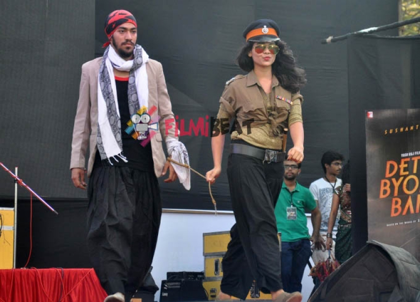'Detective Byomkesh Bakshy!' Promotion At K J Somaiya College Photos