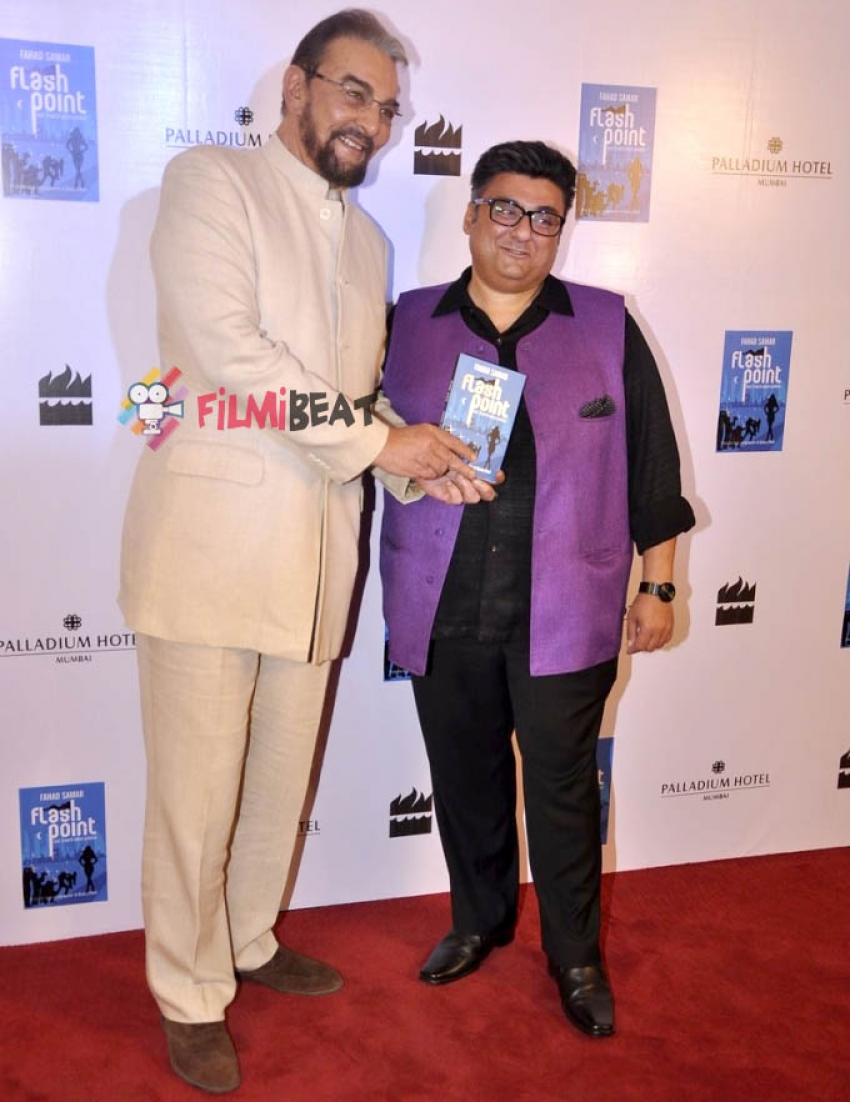 Fahad Samar Launches His Second Novel 'Flash Point' Photos