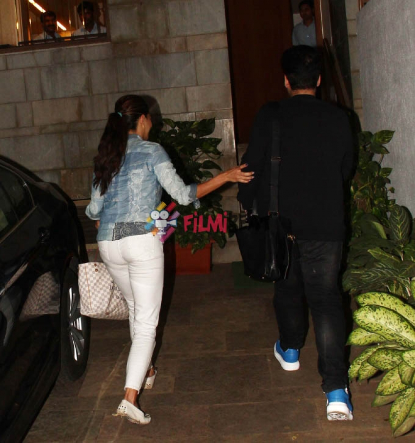 Celebs Snapped At A Party In Zoya Akhtar's House Photos