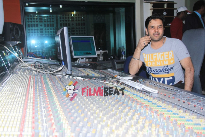 Javed Ali Records For Film 'Care of Love' Photos