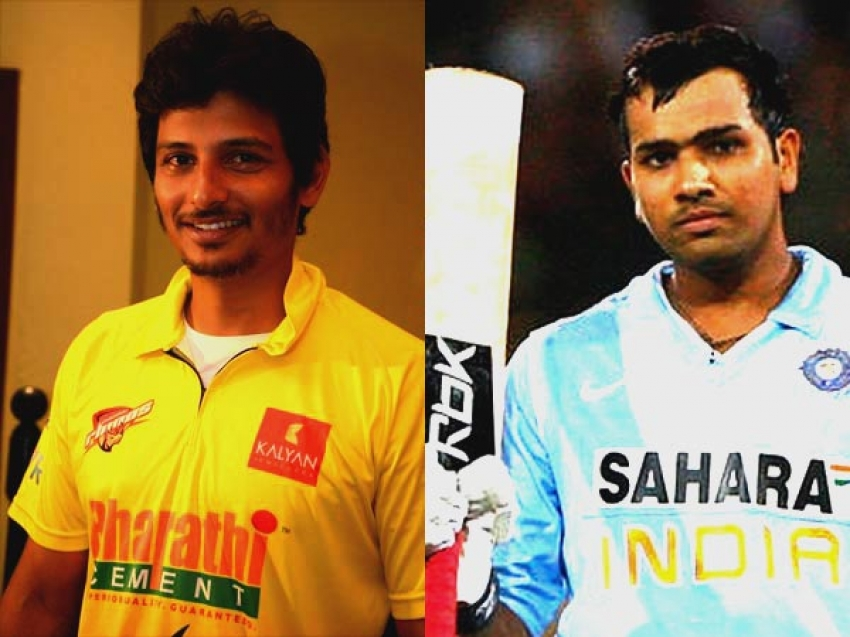 Indian Team Vs Chennai Rhinos Photos