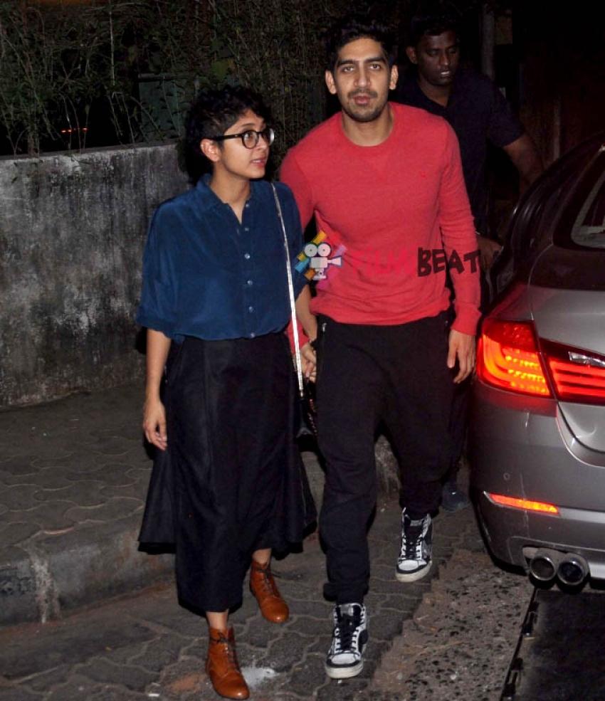 Kiran Rao & Ayan Mukerji Snapped At Nido, Mumbai Photos