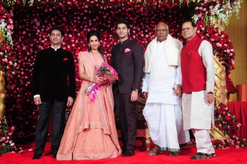 Subbarami Reddy Grandson Rajeev Wedding At Delhi Photos