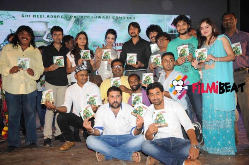Sudeep Launch Mandya To Mumbai Music Photos