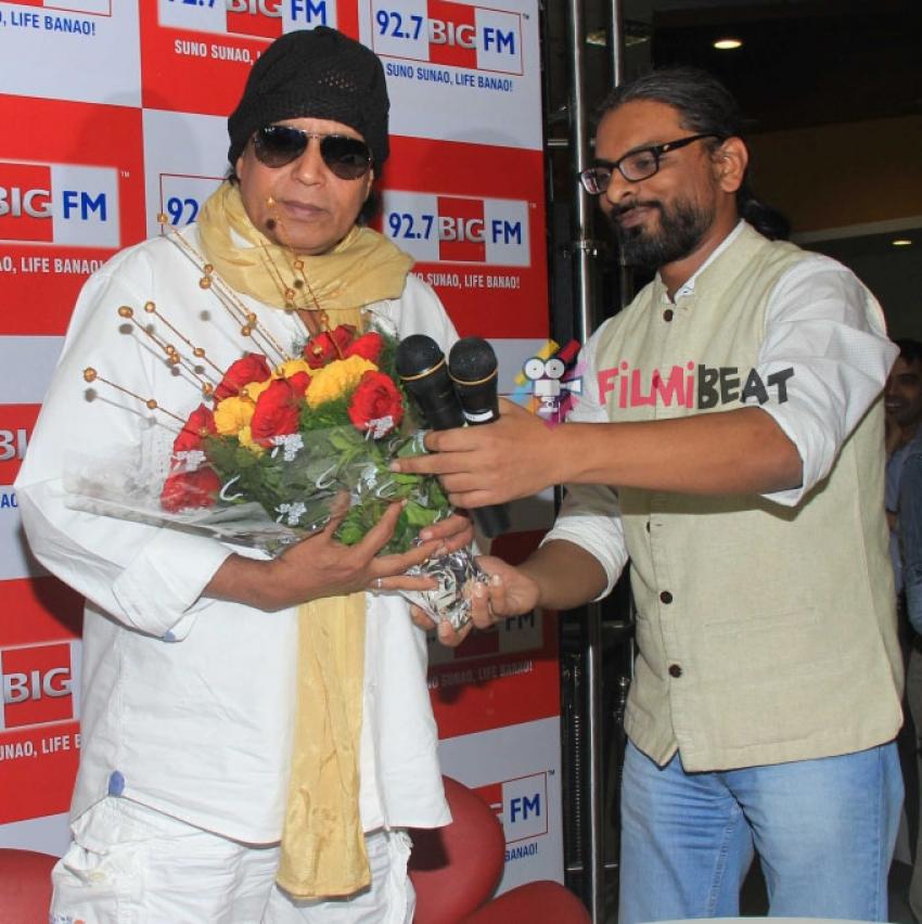 Mithun Chakraborty Promotes 'Hawaizaada' At 92.7 BIG FM Photos