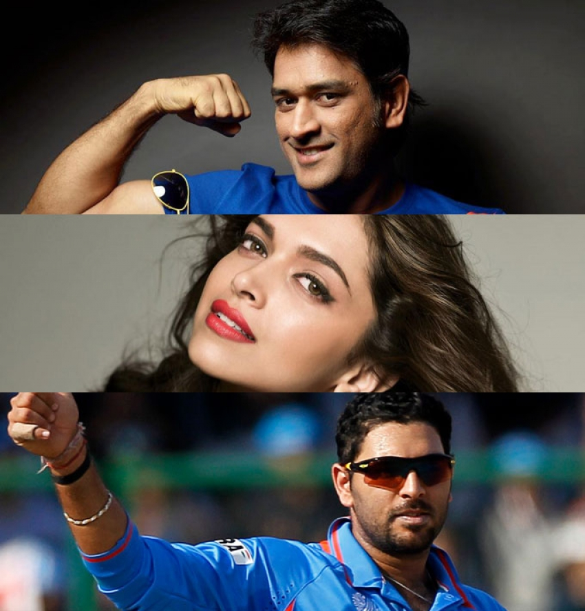 Cricketers With Bollywood Love Story Photos