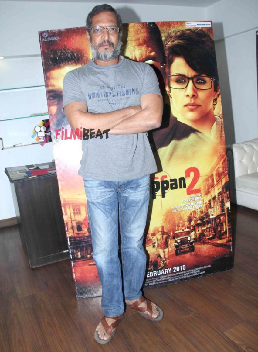 Nana Patekar Promotes 'Ab Tak Chhappan 2' Photos