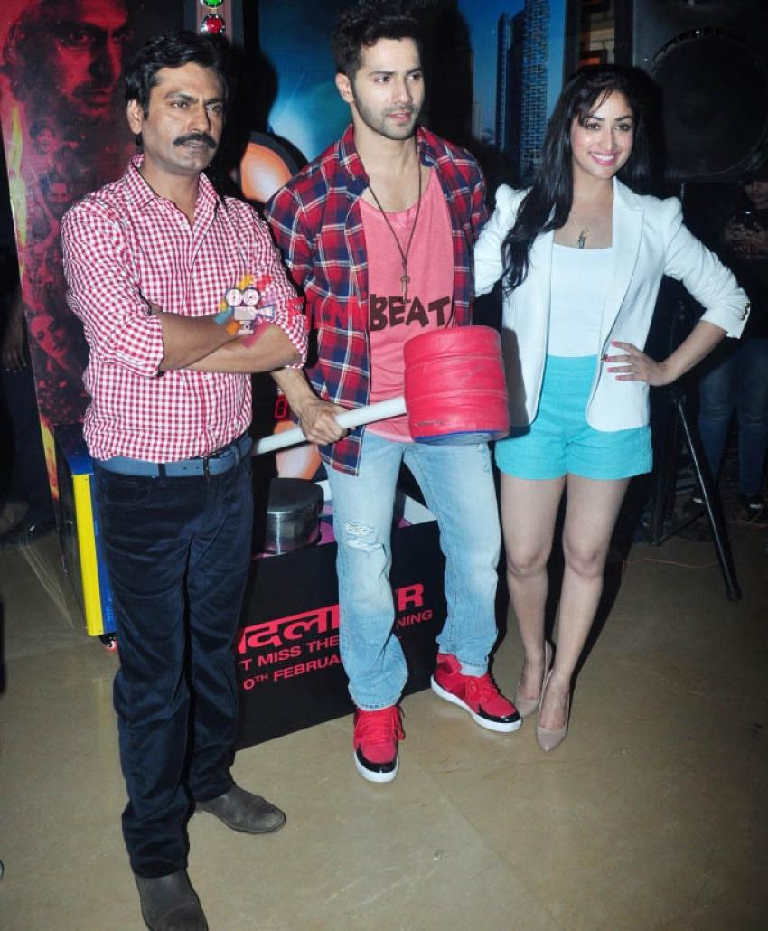 Varun, Yami & Nawazuddin Promote 'Badlapur' Photos