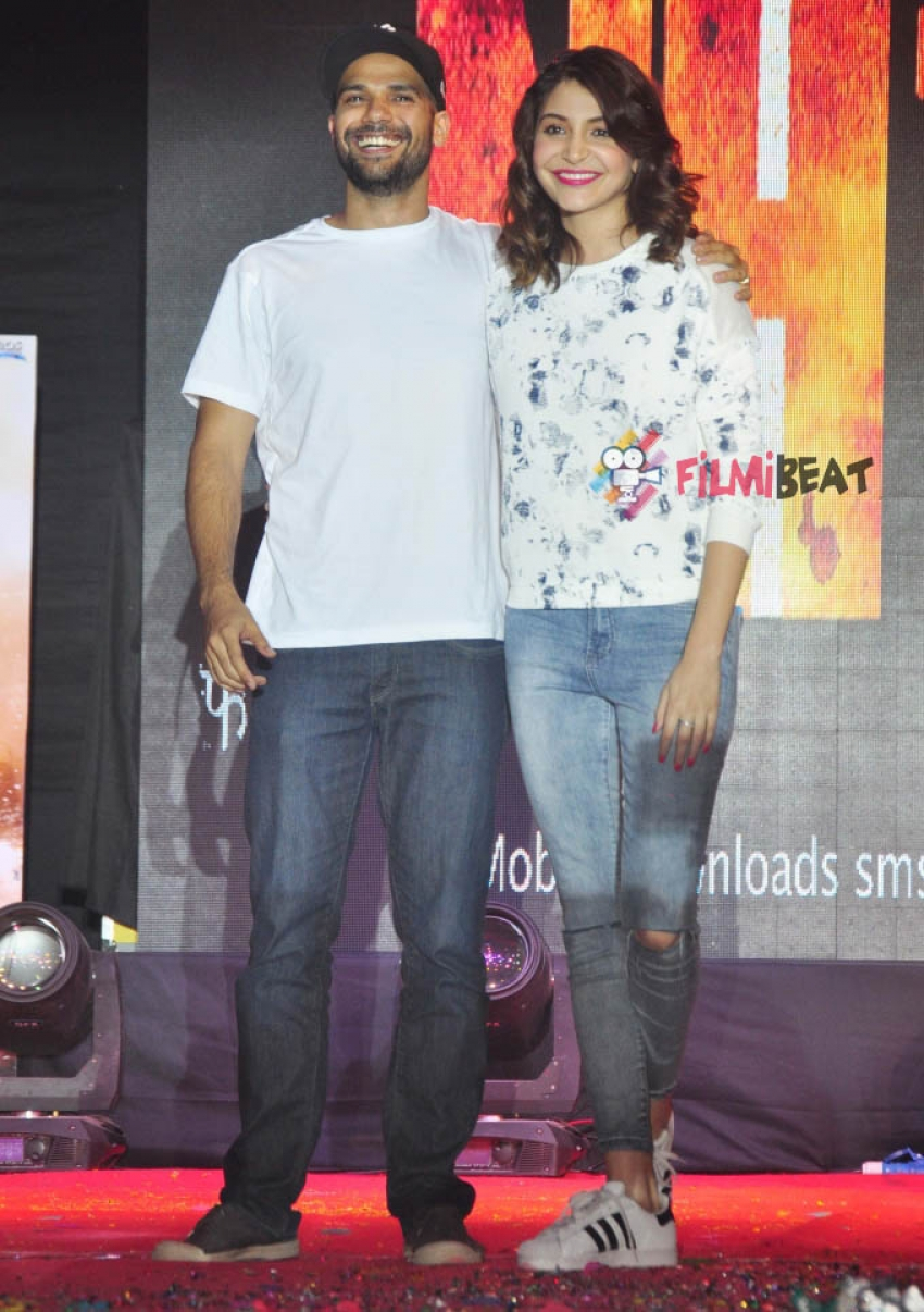 'NH10' Movie Promotion At NM Collage Festival Photos