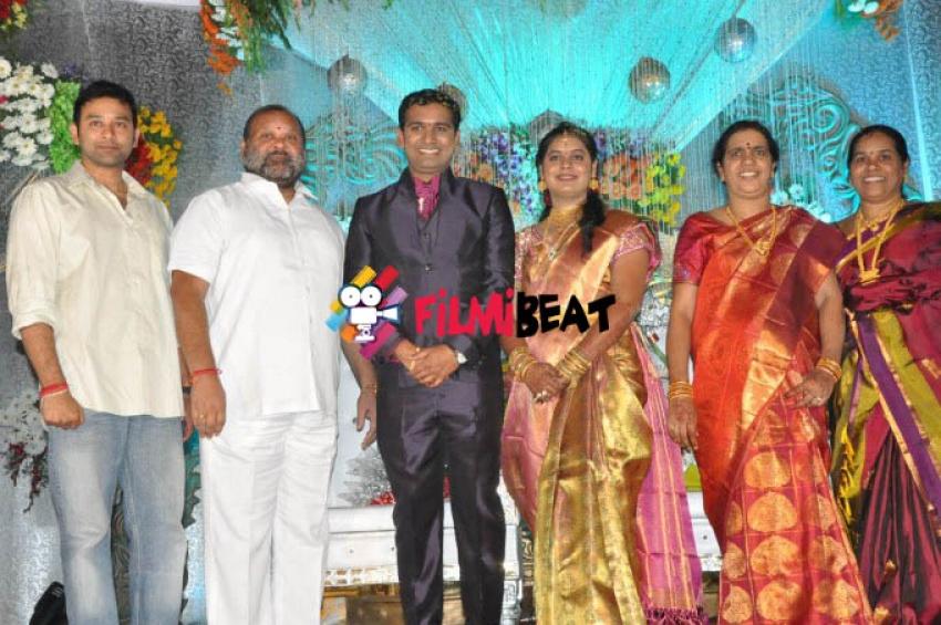 Pratani Rama Krishna Goud's Son Dr Rakesh, Anusha Marriage Reception Photos