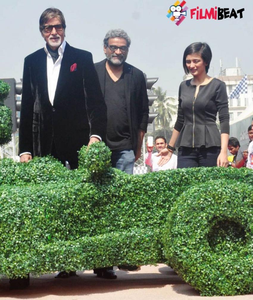 Shamitabh Promotion at Mumbai International Motor Show 2015 Photos