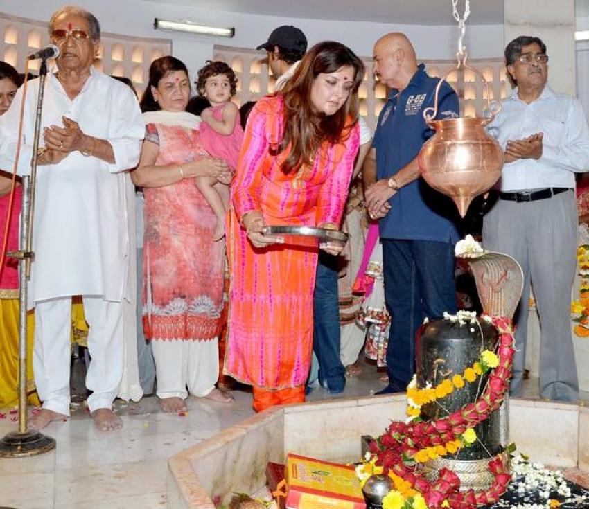 Celebs Celebrating Maha Shivratri Photos