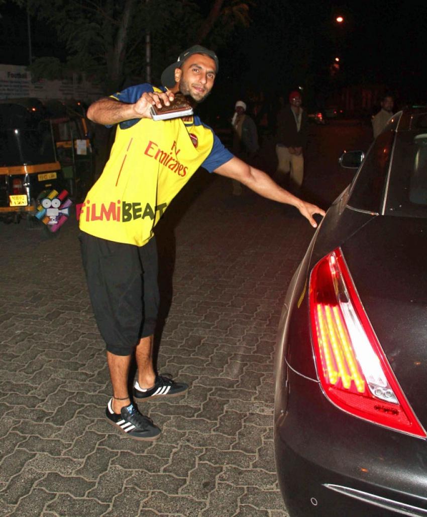Ranveer Singh Snapped At PVR Mumbai Photos