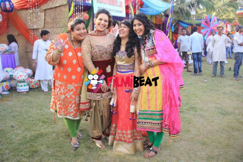 Sab TV Holi Celebration 2015 Photos