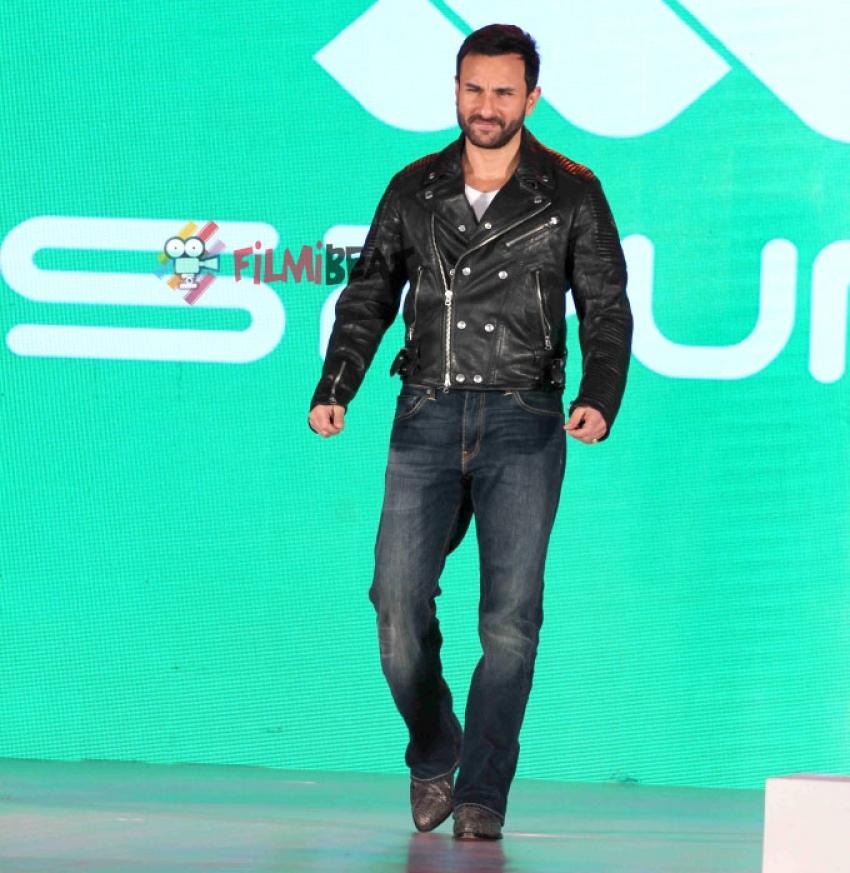 Saif Ali Khan At The Launch of Fashion Brand Spunk Photos