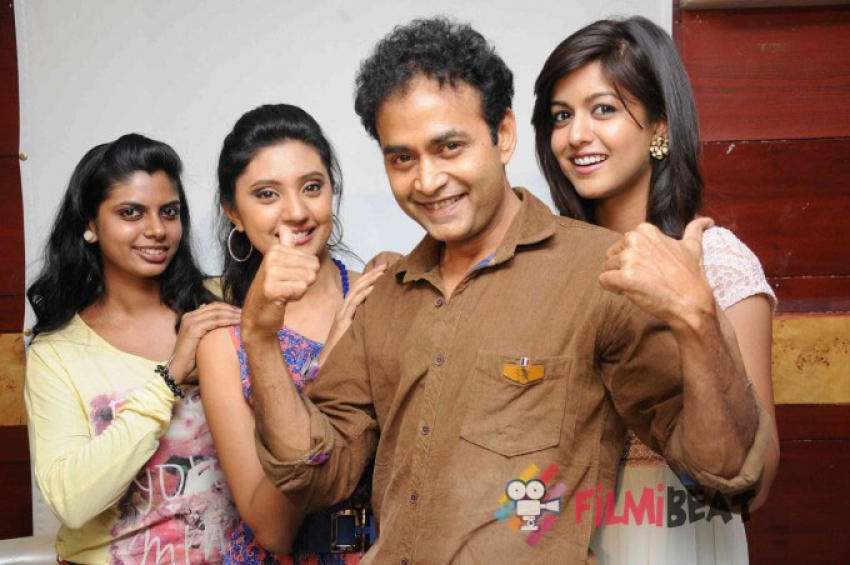 Raja Rajendra Film Press Conference Photos