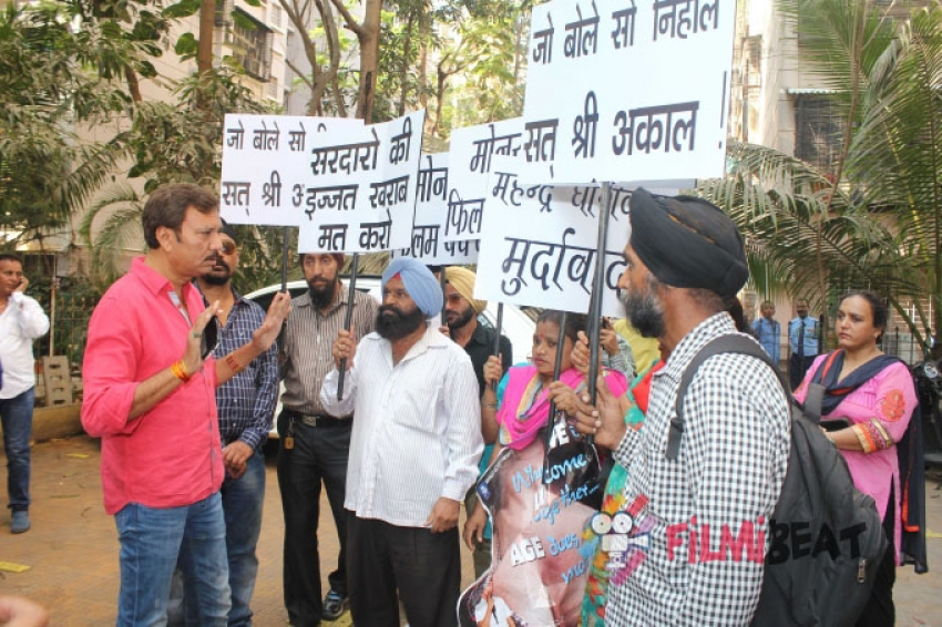 Sikh Community Protest Against The Film 'Monsoon' Photos