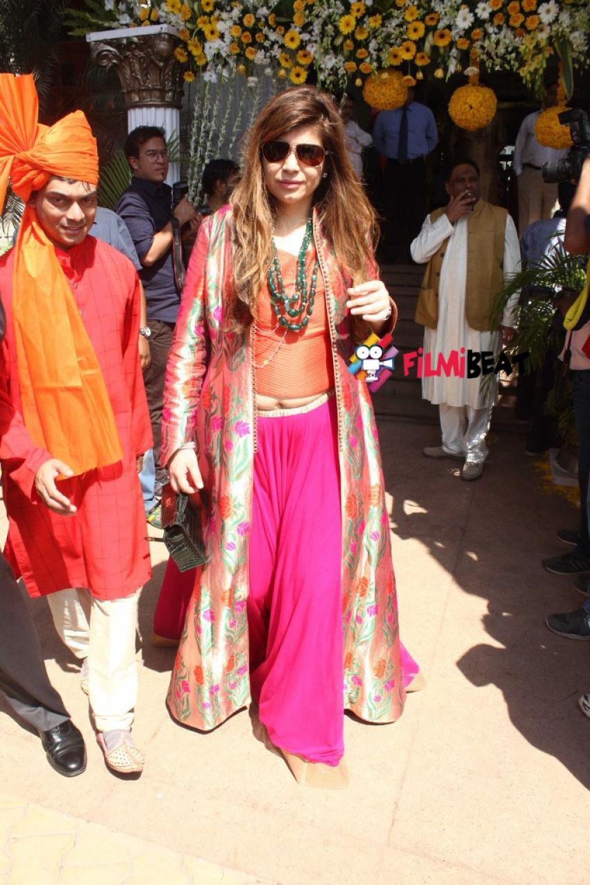 Smita Thackeray Son Rahul Thakre Weds Aditi Redkar Photos