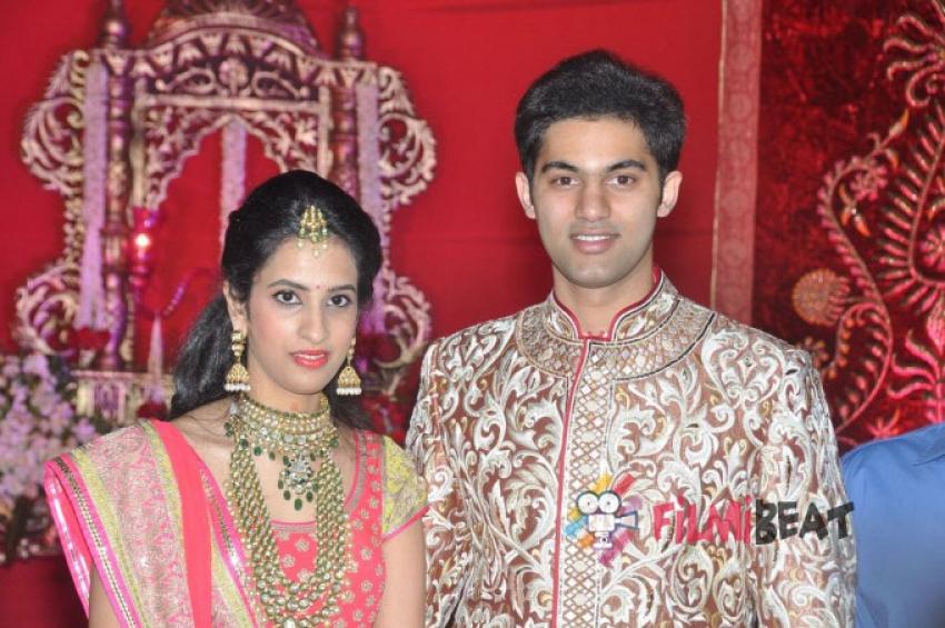 Subbarami Reddy Grandson Rajeev Wedding Reception Photos