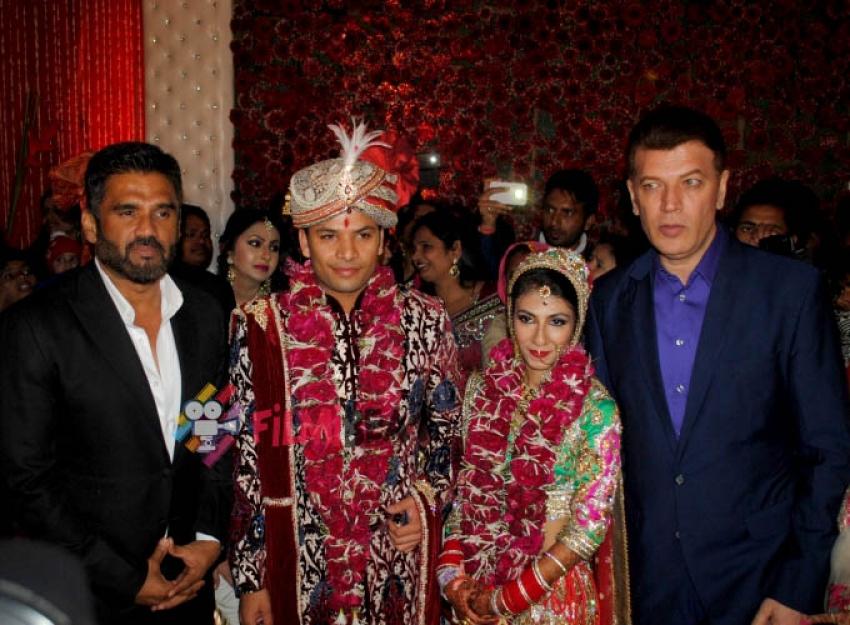 Krishna Choudhary's Daughter Lalita Wedding Photos