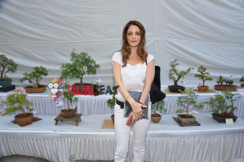 Susanne Khan & Urvashi Thacker Inaugurate The Exotic Bonsai & Ikebana Exhibition Photos