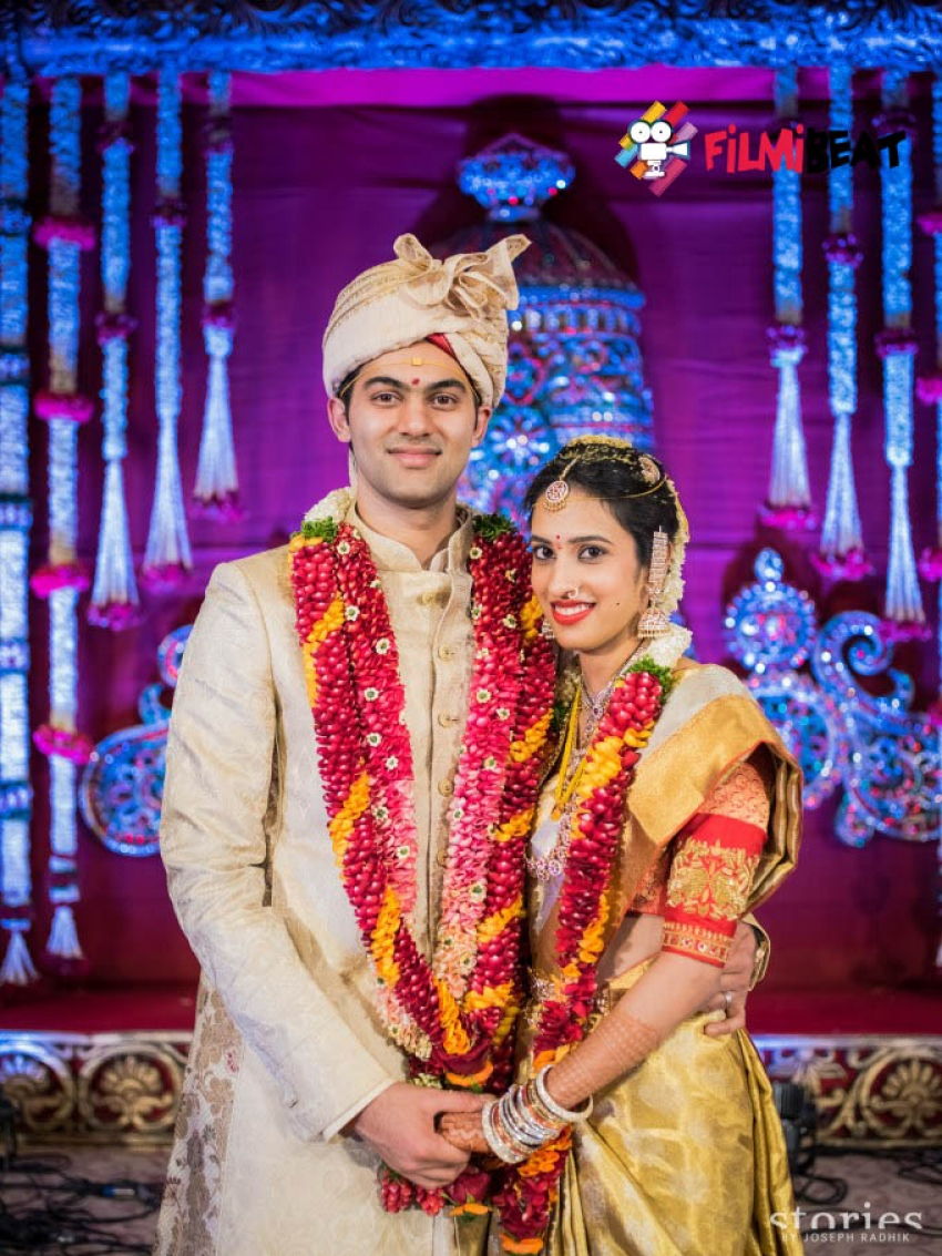 T Subbarami Reddy's Grand Son Rajiv Weds Kavya Photos