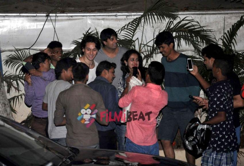 Tiger Shroff Snapped At Hotel Le Sutra, Mumbai Photos