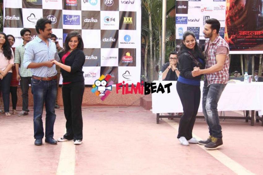 Varun Dhawan Promotes Badlapur At Pune Photos