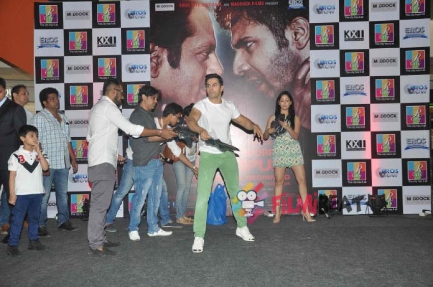 Varun Dhawan & Yami Gautam Promote 'Badlapur' At R City Mall Photos