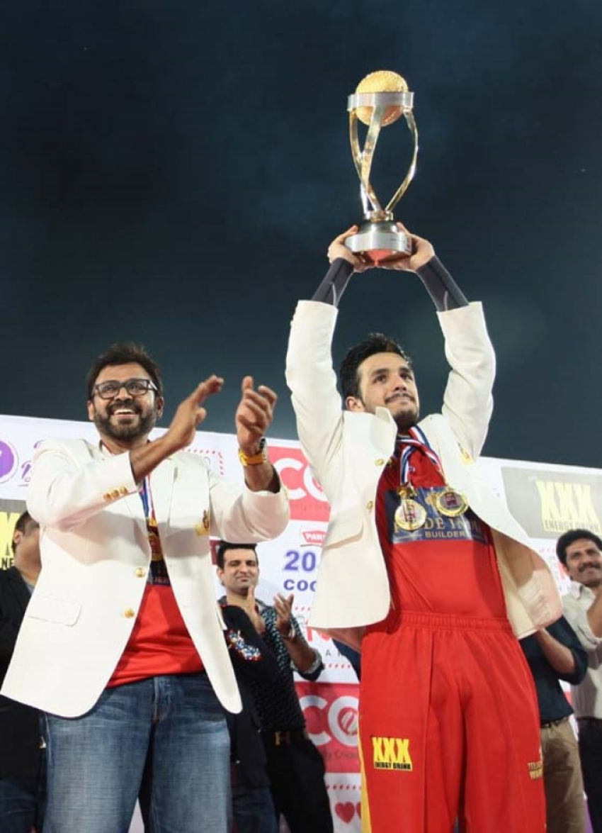 CCL 5 : Final Telugu Warriors Vs Chennai Rhinos Photos