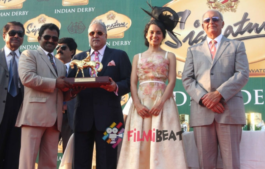 McDowell Signature Indian Derby 2015 Photos