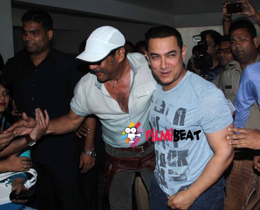 Aamir Khan Celebrates His 50th Birthday with Media Photos