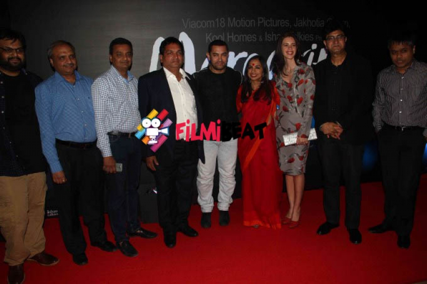 Aamir Khan Launches Trailer of Margarita, with a Straw Photos