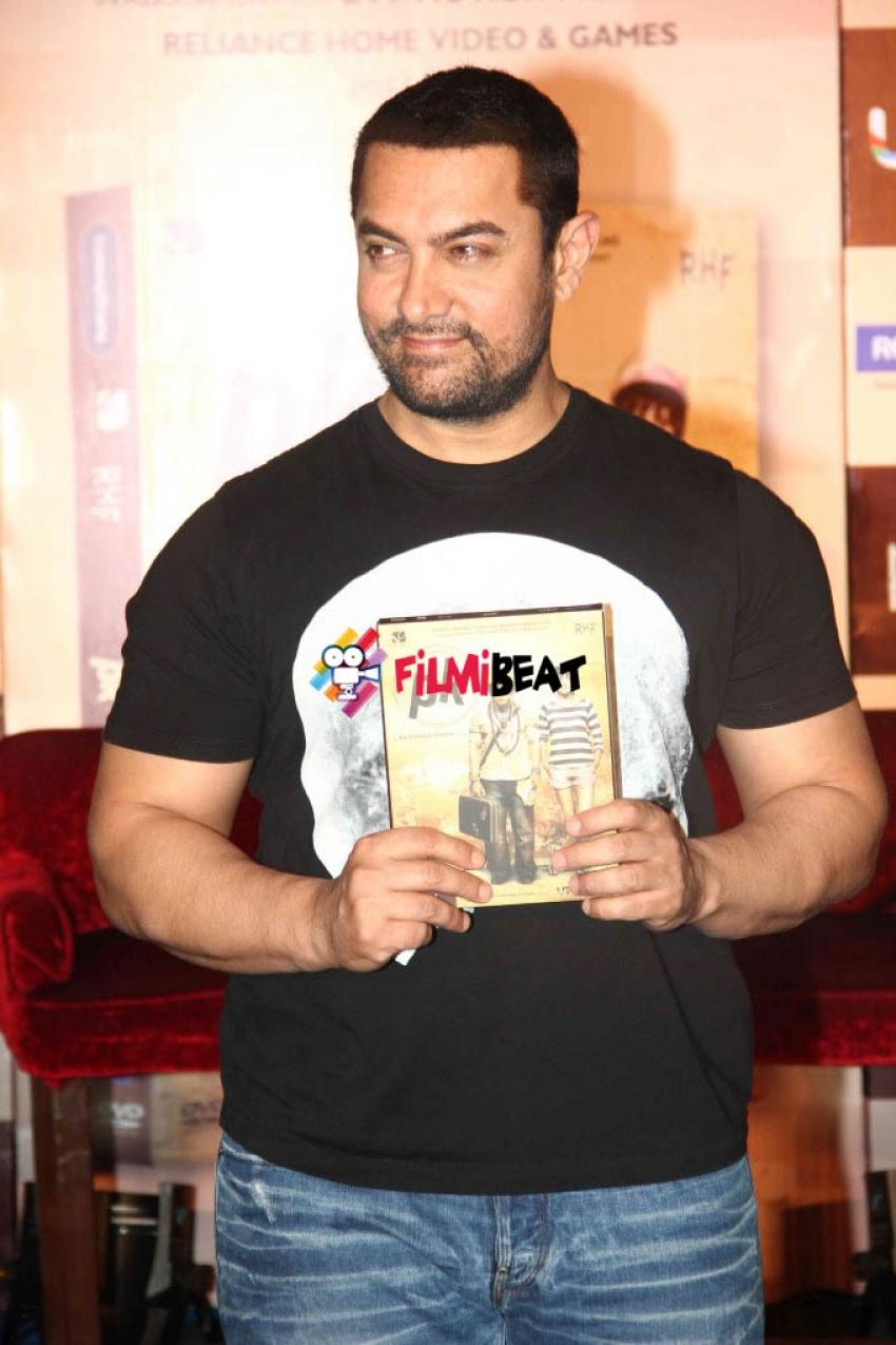 Aamir Khan Launches PK DVD Photos