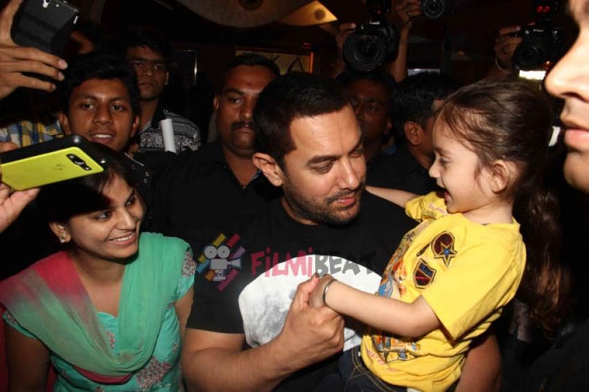 Aamir Khan Launches 'PK' DVD Photos